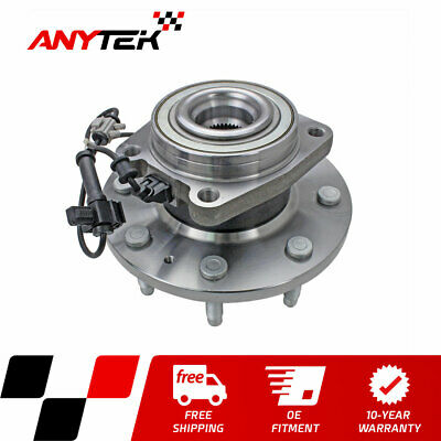 Front New Wheel Hub Bearing Assembly for Chevrolet GMC Sierra 2500HD 3500HD 4WD