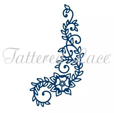 Tattered Lace Die 'Lush Swirl' 1pc D1119 - Cuttlebug & Sizzix Compatible