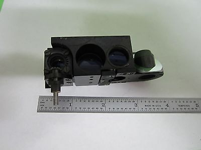 Microscope Part Wild Heerbrugg Swiss Bf Df Assembly ?? Optics As Is Bin#S6-57