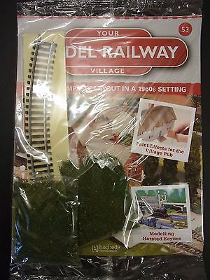 Your Model Railway Village Magazine No 53 green scatter & curved track