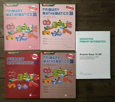 SINGAPORE PRIMARY MATH Level 5 + Answer Booklet (US ED