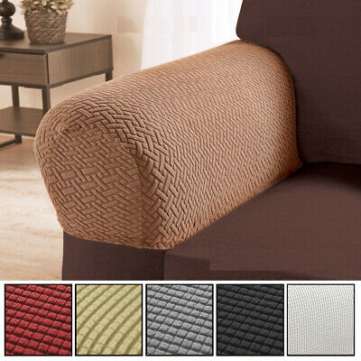 Astonishing 2 Pcs Chair Armrest Covers Stretchy Set Armchair Arm Download Free Architecture Designs Scobabritishbridgeorg