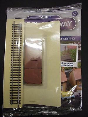 Your Model Railway Village Magazine No 50 parts for cow shed & track