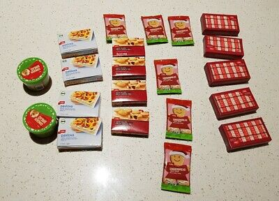 Coles Little Shop Mini Xmas Collectables - FREE SHIPPING