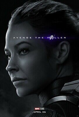 Avengers: Endgame Movie Poster (24x36) - The Wasp, Hope Van Dyne, Lilly v27