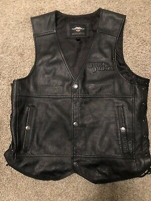 Harley Davidson Men/'s waistcoat Sizes Small Med   98101-16VM  £163  35/% off RRP