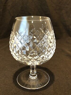 """Waterford Crystal Alana Brandy Snifter Glass 5 1/8"""" H Sold Individually"""