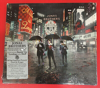 A LITTLE BIT LONGER [Digipak] by JONAS BROTHERS (CD, 2008 - Hollywood - USA) NEW