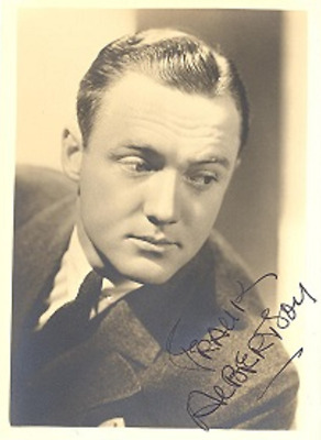 Tragic Actor FRANK ALBERTSON Scarce Signed Photo - IT'S A WONDERFUL LIFE, PSYCHO