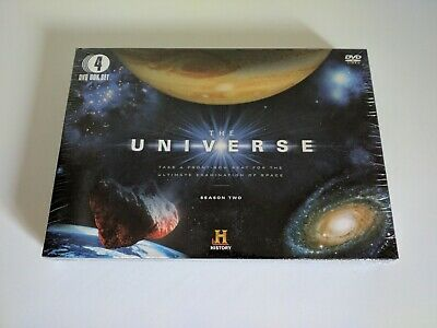 The Universe, Season 2, DVD, 4 DVD Set, New And Sealed And With Fast Postage.