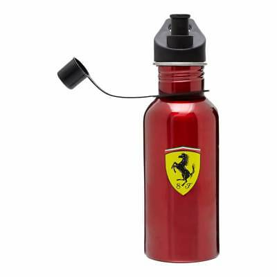 Official Formula 1 Merchandise Scuderia Ferrari Red Stainless Steel Bottle NEW