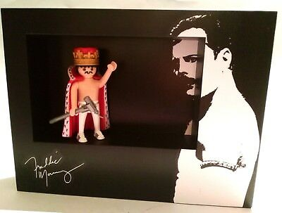 Playmobil  FREDDIE MERCURY - QUEEN  PREMIUM CUSTOM WEMBLEY