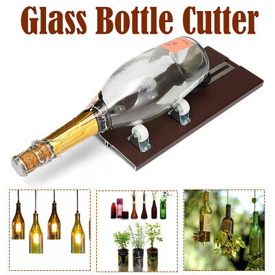 Glass Bottle Cutter Machine Cutting Tool For DIY Craft Jar Winebottle Recycle AU