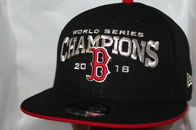 10085580062aa8 Boston Red Sox New Era MLB 2018 World Series Champions 9Fifty,Snapback Cap, Hat