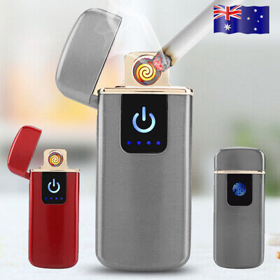 Electric USB Cigarette Lighter Touch Sensitive Rechargeable Flameless Windproof