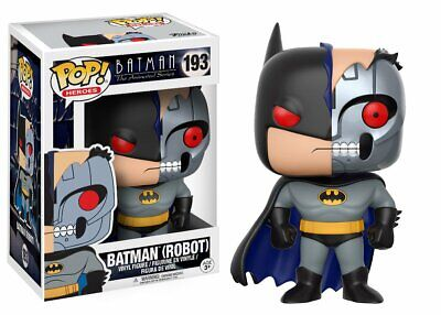 Funko Pop BATMAN (ROBOT) #193 Animated Series NEW Excellent Condition Packaging