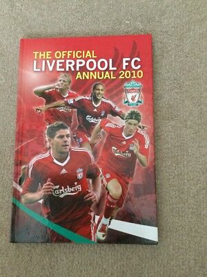 Official Liverpool FC Annual 2010, Paul Eaton   Hardcover Book   Very Good