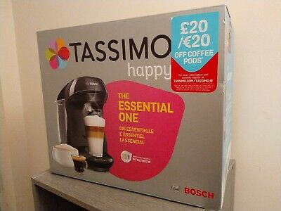 TAS1002GB TASSIMO Coffee Machine Black Bosch