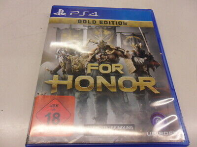 PlayStation 4  PS4  For Honor - Gold Edition   USK 18