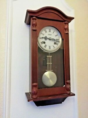 'Highlands' Wall Clock (Wooden Case) (Collection Only, West Midlands)