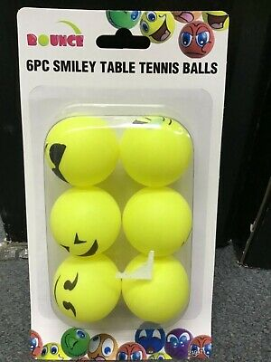 Emoji table tennis balls 6pack