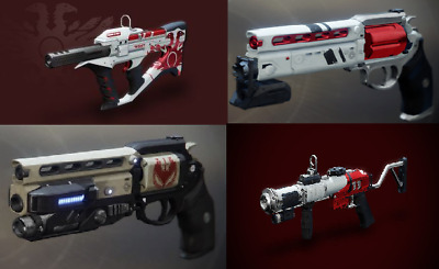Destiny 2 Competitive Pinnacle Weapons [PS4, Xbox, PC]