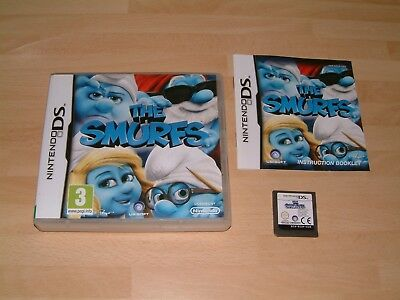 The Smurfs ............. Nintendo Ds / Lite / 2Ds / 3Ds / Xl Game