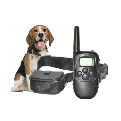 LCD 100LV Shock & Vibra Remote Control Dog Pet Training Collar Product 300M