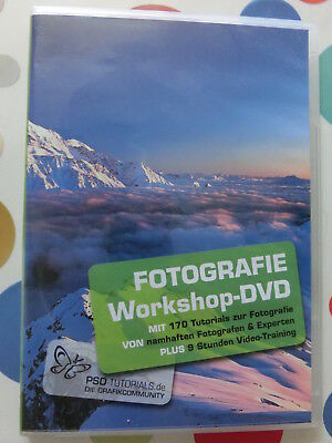 Fotografie-Workshop-DVD von PSD-TUTORIALS.de | Software | Zustand gut