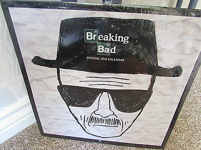 Breaking Bad official 2016 Calendar 12 x 12 inches new & factory sealed.