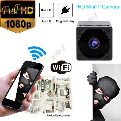 Full Color HD 1080P Wireless Mini WIFI IP Camera Home Security Night Vision TF