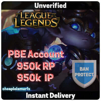 PBE Account | League of Legends Unranked 30 Level - LoL - NA | EUW | EUNE TR OCE