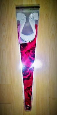 Rose flower cellophane sleeves florist cello wrap valentines mothers day