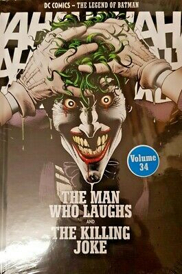 Dc Comics = The Legend Of Batman = # 34 =The Man Who Laughs And The Killing Joke
