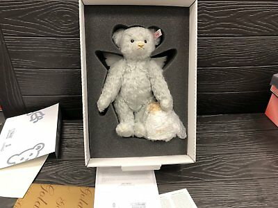 Steiff Tier 676833 Lladro Teddy Engel 28 cm. Top Zustand