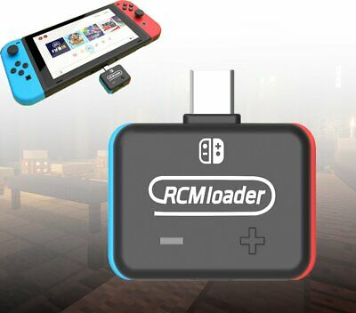 RCM Loader Charge utile USB Dongle Atmosphère Injection pour NS Nintendo Switch