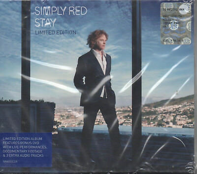 Simply Red Stay Limited Edition CD und DVD NEU The World And You Tonight Stay