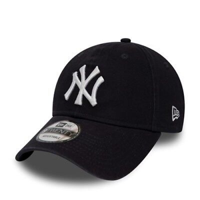New York Yankees NYY Washed Essential 9TWENTY New Era Cap - New w/Tags Top Brand