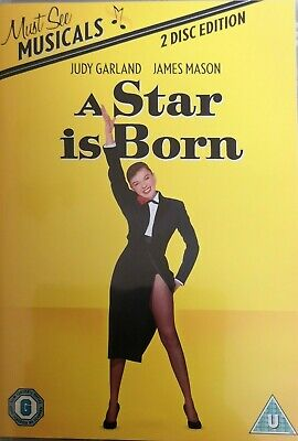 A Star Is Born - 2 Dvd Set **new Sealed** Free Post**