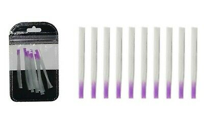 10x Fibreglass Stripes Nail Gel Extension Repair Strong No Nail Form Easy to Use