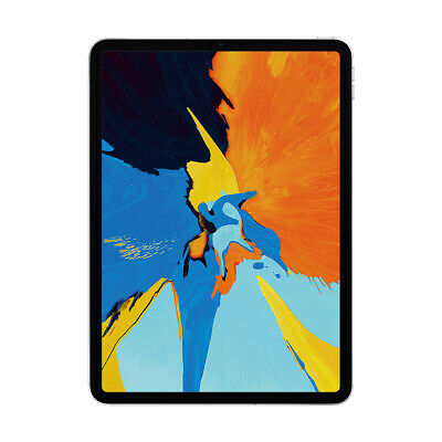 "Apple iPad Pro 11"" 2018, WiFi 256GB BT 5.0  IPS Face ID silber"