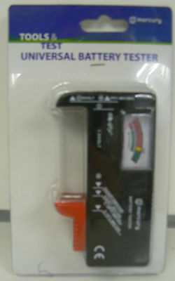 Mercury Universal Battery Tester