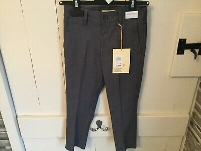 John Lewis & Partners Heirloom Collection Boys' Suit Trousers Grey - Aged 3