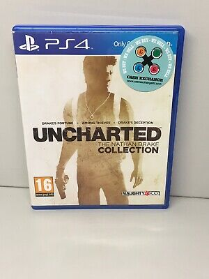 Uncharted The Nathan Drake Collection PS4 Playstation 4 **FREE UK POSTAGE**