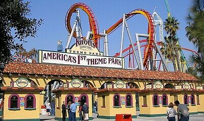 Knotts Berry Farm (2) Two Single Day General Admission (Total of 2 E-Tickets)