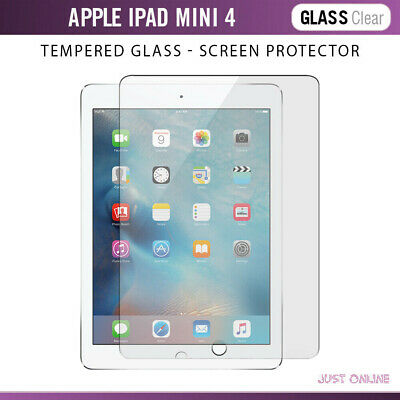 Genuine Tempered Glass Screen Protector Film For iPad Mini 4