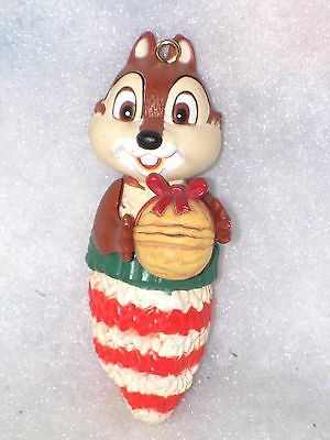 Disney Chip /& Dale Christmas Ornament 2017 Chip /'n Dale Pottery F//S Japan NEW