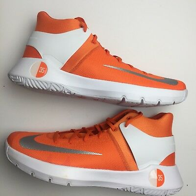brand new dde45 4c8f9 Nike Mens 17.5 KD Trey 5 Basketball Shoe Kevin Durant Orange White Sneaker  New