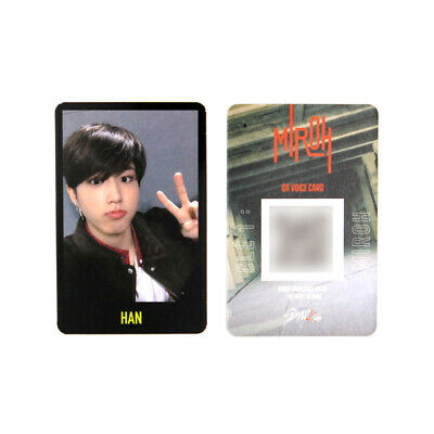 [STRAY KIDS] SKZ / Cle1 : MIROH Official Photocard / Black Border / HAN