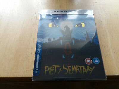 PET SEMATARY 4K Ultra HD Mondo Limited Edition Steelbook Brand New and Sealed